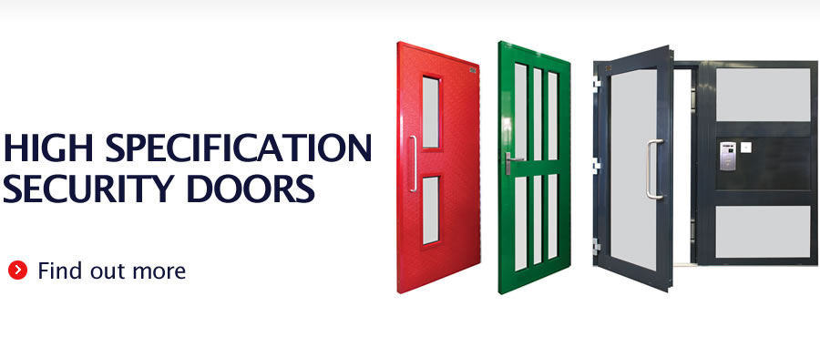 High Specification Security Doors - Find out more