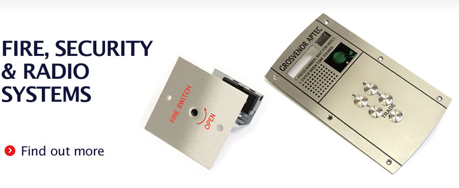 Fire, Security & Radio Systems - Find out more